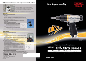 Oil Xtra Air Screwdrivers